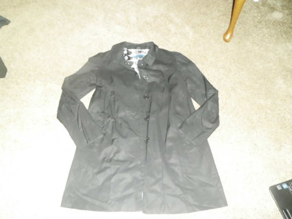BB Dakota black long jacket~light weight~medium juniors~Super cute