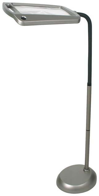 daylight24 402039-05 Natural Daylight Magnifier Floor Lamp