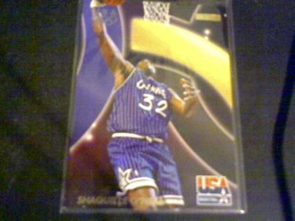 1996 skybox usa Shaquille O' Neal card