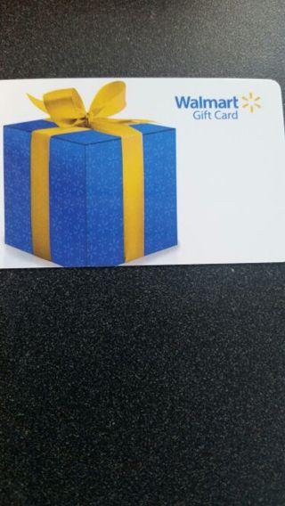 10.00 Walmart gift card