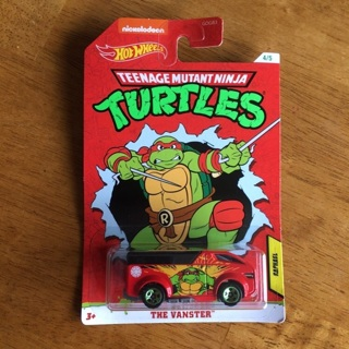 Hot Wheels - Teenager Mutant Ninja Turtles 4/5