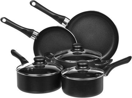 8 piece Non stick Pots and Pans set Christmas present