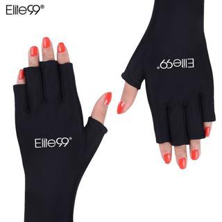 Elite99 Anti UV Gloves UV Shield Glove Fingerless Manicure Nail Art Tools LED UV Lamp Nail Dryer R