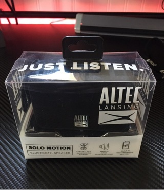 Altec Lansing Bluetooth speaker