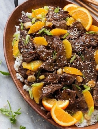 ❀ (New) Orange Beef Stir Fry Recipe ❀