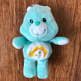 Care Bears Wish Bear Plush + Daydream Bear Figure