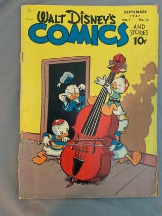 Walt Disney's comics and stories September 1947
