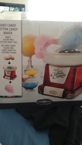 USED HARD CANDY COTTON CANDY MAKER