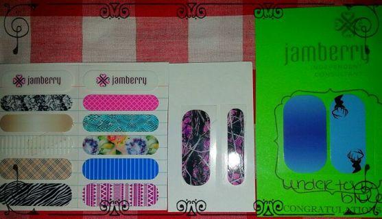 BRAND NEW sample (JAMBERRY nail Wraps)