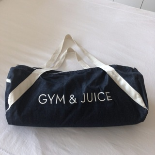 Gym & Juice Large Duffel Bag • Yoga Mat Carrier • Denim Tote • New Never Carried • Free Shipping