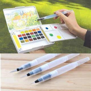 3pcs Pilot Ink Pen for Water Brush Watercolor Calligraphy Drawing Painting Tool