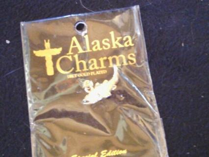 Alaskan salmon charm