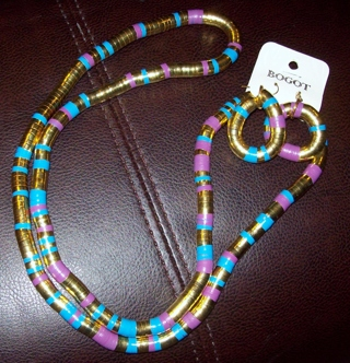 Bendable Necklace and Earring Set