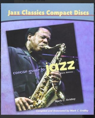 Jazz Classics CDs for Concise Guide to Jazz (CD-ROMS) ~ Used for some College Music Classes