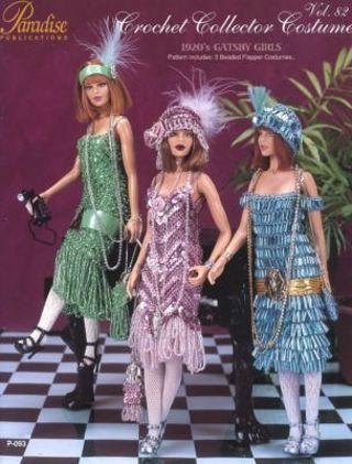 Free New Paradise Vol 82 Fashion Doll Barbie Crochet Pattern