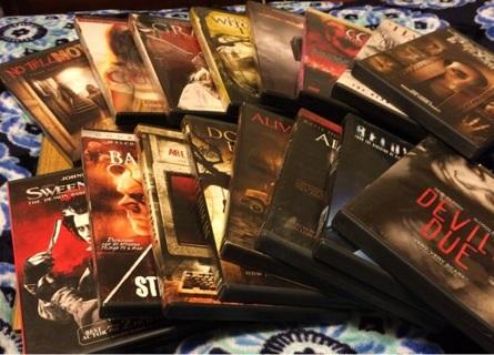 Box of 16 Horror DVDs