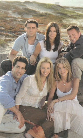 """Photo of the Cast of Friends Original Giveaway 3.5"""" x 5.5"""""""
