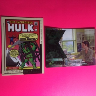 Marvel 2003 Incredible Hulk! 2 cards!