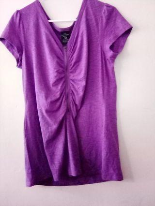 Ladies purple top