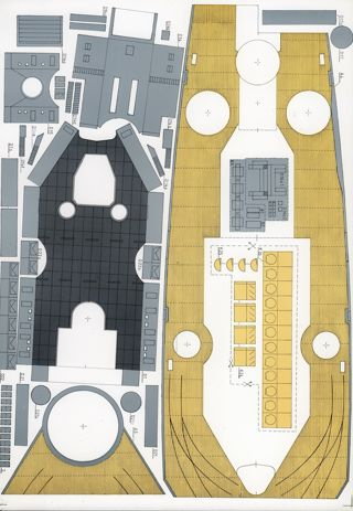 Free: Battleship Dunkerque paper model - Other Collectibles
