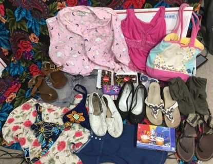 MIXED RANDOM LOT RANDOM STUFFED BOX #6 WOMEN'S CLOTHING & MORE!