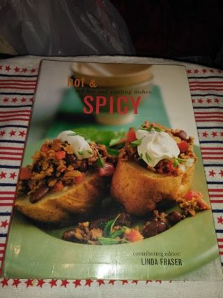 ⭐⭐⭐⭐BRAND NEW HOT & SPICY (RED HOT & SIZZLING DISHES)COOKBOOK⭐⭐⭐⭐