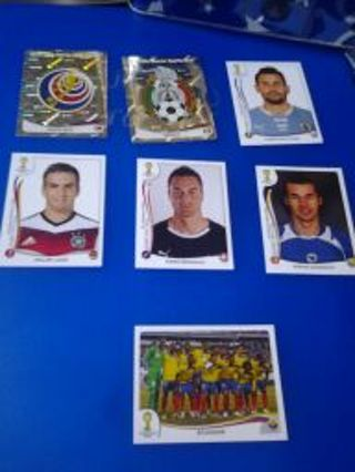 2014 WORLD CUP STICKERS
