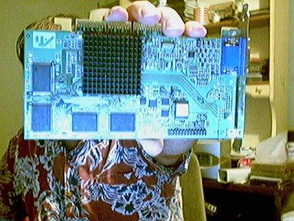 Ati Rage 128 PRO AGP graphics card