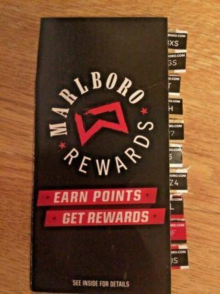 Marlboro Rewards points code