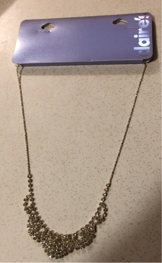 Claire's Fancy Rhinestone Necklace