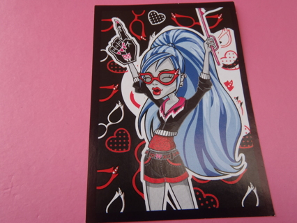 Monster High PANINI Sticker #179 for the 2012 fearbook