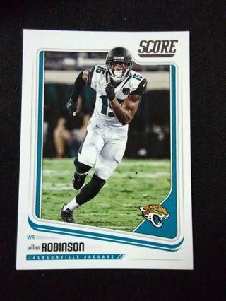 2018 Score Allen Robinson Football Card #147