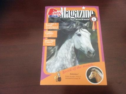 Collectible 2008 PONY MAGAZINE: Family Summer Reading, Conversations & Lots of Photos: Home Schooler