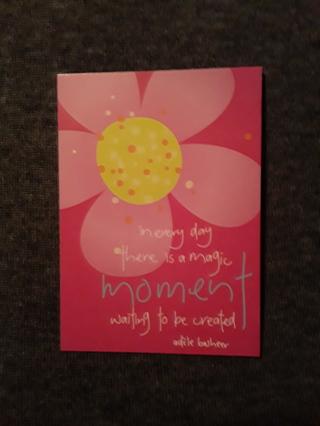 Notecards - Magic Moment