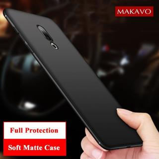 MAKAVO Cover For Meizu 16th Case Full Protection Soft Silicone Matte Phone Cases For Meizu 16 Plus