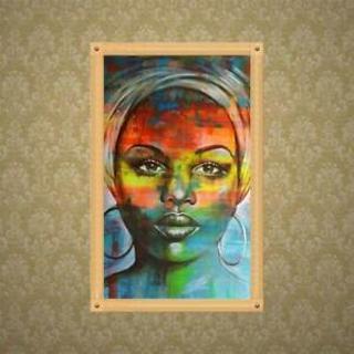 Womans 5D Full Drill Diamond Painting Embroidery Cross Stitch Kit Rhinestones