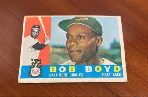 1960 Topps Baseball card