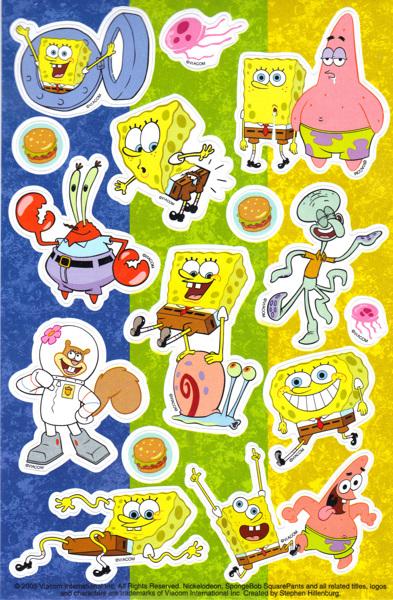 Spongebob Squarepants Crafts Free