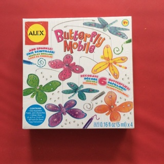 Butterfly Mobile Decorating Kit Brand New In Box Ages 7+