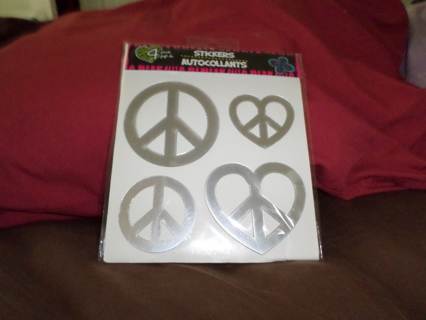 Stickers - Autocollants PEACE signs