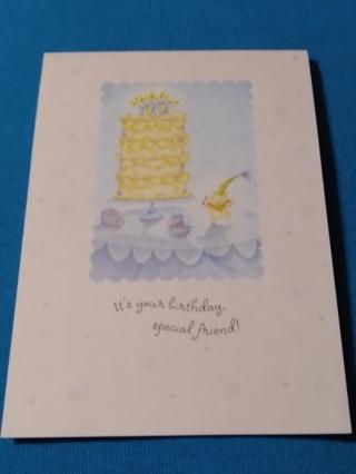 Happy Birthday Card - Friend