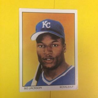 1990 Score Dream Team #687 LF Bo Jackson - Royals