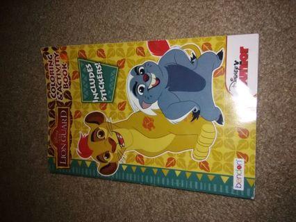 Disney lion guard coloring book