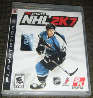 *NEW* - NHL 2K7 from 2K Sports for Sony PS3