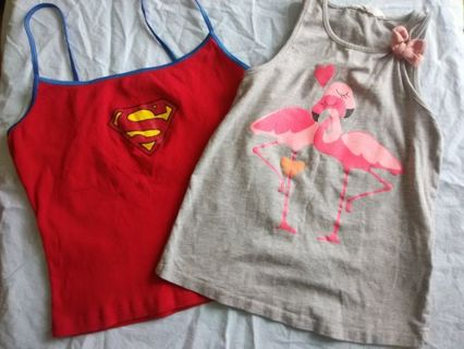 Gently Used Little Girls Tops
