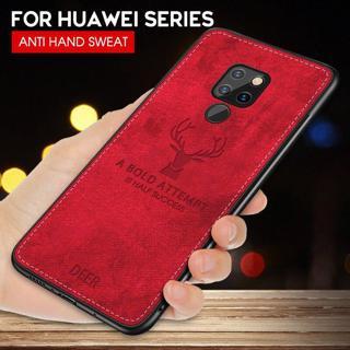 Shockproof Deer Cloth Cases For Huawei Mate 20 Lite P20 Pro P10 P Smart Plus Nova 3i Ultra thin Co