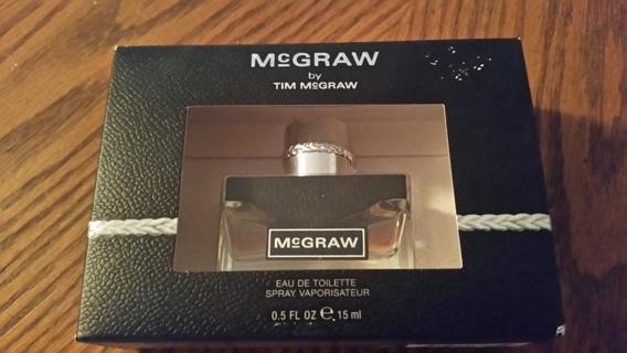 25 bottles of Tim McGRAW mens cologne