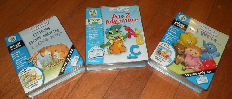 Little Touch Leap Pad, A to Z Adventure, How Much I love, If I Were (Lot of 3)