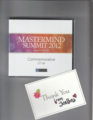 Mastermind Summit 2012 Commemorative CD Set Buffini & Company Brian Work By Referral Real Estate NEW