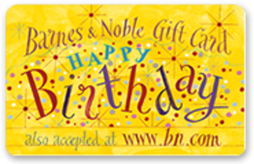 Free look 25 barnes and noble happy birthday gift card 25 barnes and noble happy birthday gift card bookmarktalkfo Images